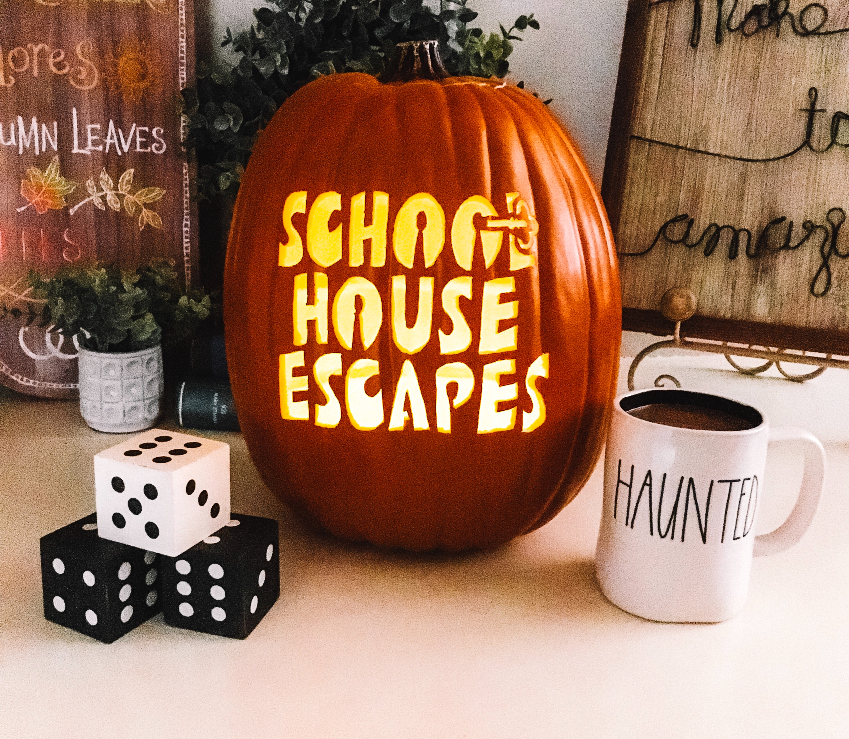 Halloween schoolhouse escapes